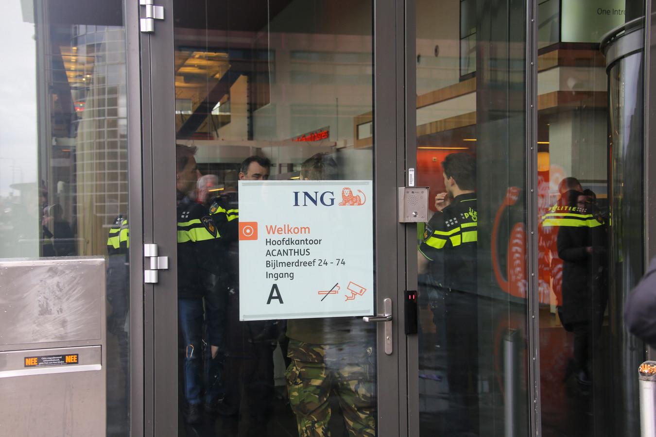 Bombrief ING Amsterdam-Zuidoost.