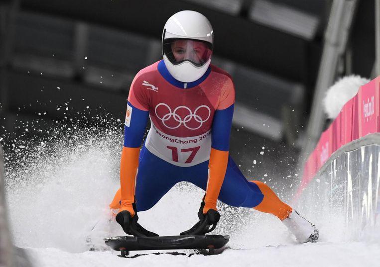 Kimberley Bos vond het 'geweldig' om op olympisch niveau uit te komen Beeld ANP
