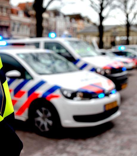 Net toen ik de dag als verloren beschouwde, stuitte ik in de Nieuwstad op vijf politieauto's