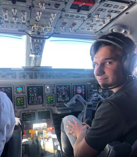 'Ik denk dat ik sprakeloos zal zijn na de landing': Oisterwijker Oliver (18) reageert in video Jeff Bezos op ruimtereis