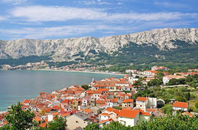 Een dorpje op het eiland Krk.