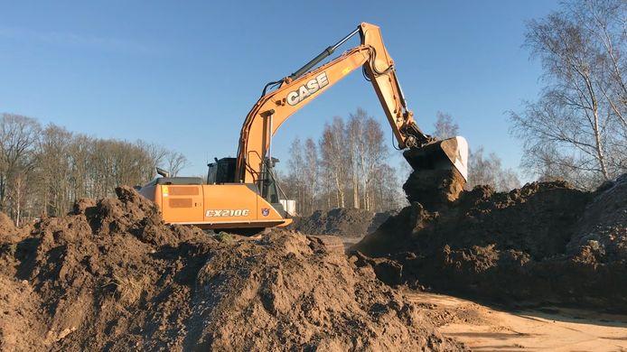 Binnenkort start de bouw van 53 woningen op het Isabellaveld in Vught, de eerste fase van in totaal 119 huizen.