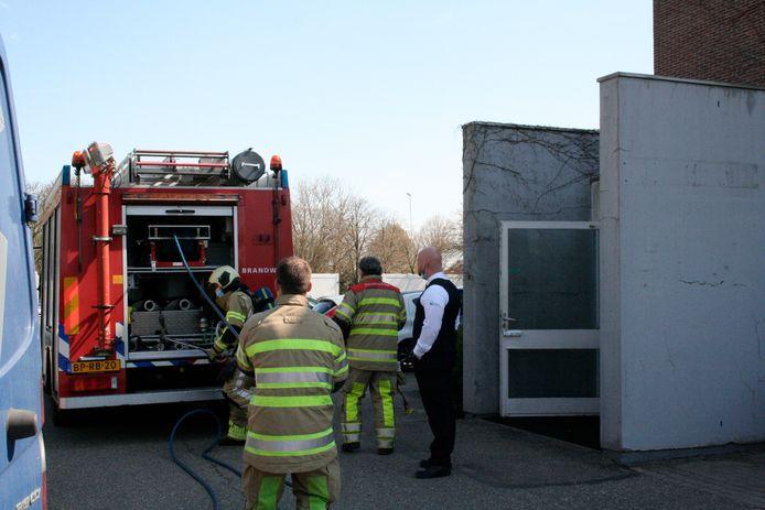 Een brand in een spouwmuur van het Ziekenhuis Rivierenland in Tiel is geblust door de brandweer