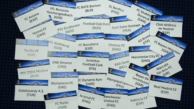 Herbeleef de gunstige(?) loting van AA Gent op het kampioenenbal