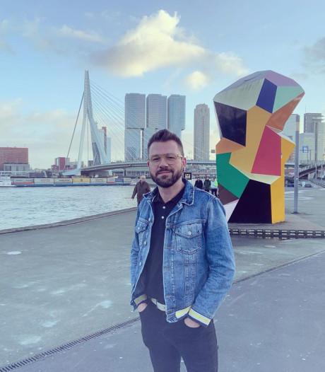 Peter Jan is verliefd op Rotterdam. 'Middelburg is supermooi, maar ik ga er niet meer wonen'