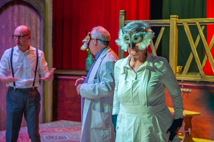 Voorstelling Dwazen van toneelgroep Phoenix.