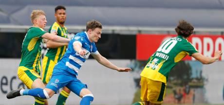 PEC Zwolle houdt de hoop levend bij ADO Den Haag, nederlaag in oersaaie wedstrijd