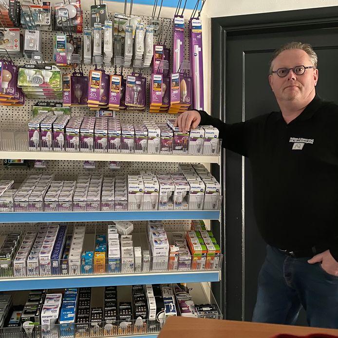 Gert Renes wil niet in een koude winkel klanten ontvangen.