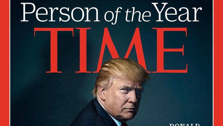 Vorig jaar werd Trump al Persoon van het Jaar. Beeld anp