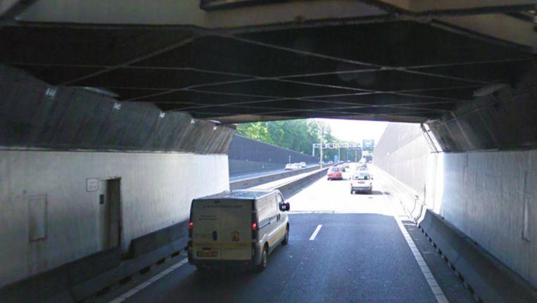 De Velsertunnel. Beeld Google Streetview