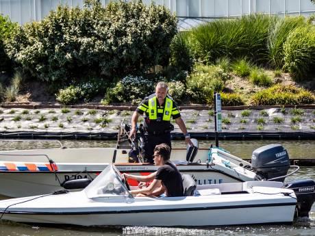 Politie schrijft voor bijna 20.000 euro aan boetes op het water uit