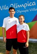 Lianne et Yuhan Tan, les deux premiers badistes belges aux Jeux Olympiques.