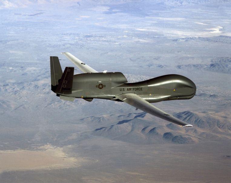 Washington zou de cyberaanval hebben laten plaatsvinden nadat Iran een Amerikaanse drone uit de lucht had geschoten. Beeld AFP