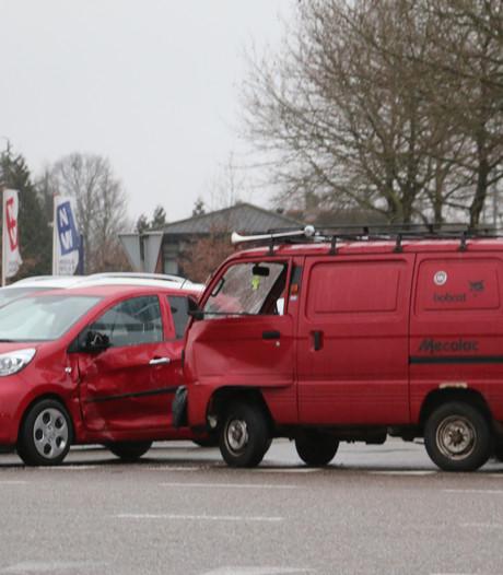 Flinke schade bij aanrijding in Lichtenvoorde
