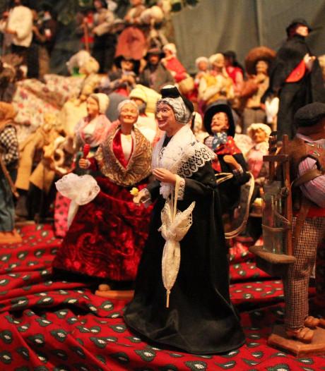 Sinterklaas moet nog arriveren, net over de grens worden kerststallen al klaargezet...