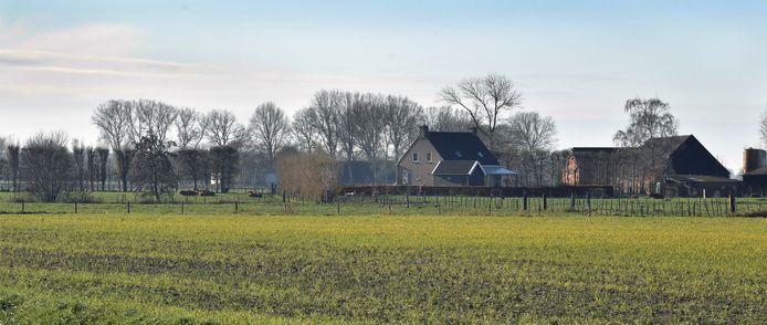 Het landelijke gezicht van Hasjesstraat.