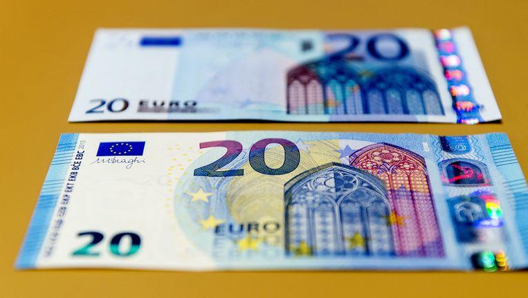 Het nieuws 20-eurobiljet Beeld anp