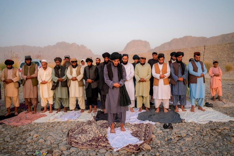 Een van de oprichters van de taliban zegt dat er opnieuw executies en amputaties zullen plaatsvinden in Afghanistan. Beeld AFP