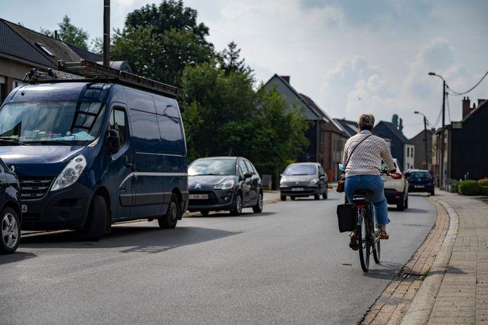 De Boonwijkstraat zal fietssuggestiestroken krijgen.