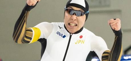 Shinhama pakt wereldbeker met baanrecord op 500 meter