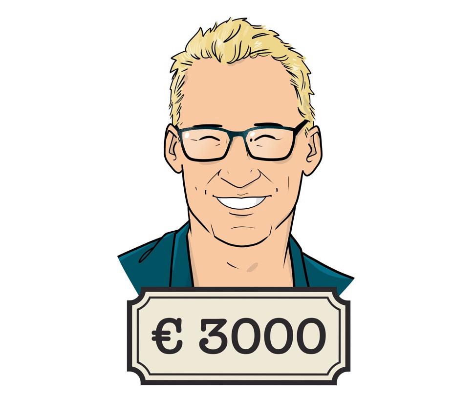Als makelaar moet Bart (38) zelf voor zijn pensioen zorgen. 'Zo'n bonus is leuk, maar dit is mijn totale inkomensbron. Ook voor later.'