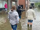 Waterellende aan de Kessel-Losesteenweg in Wilsele (Leuven).