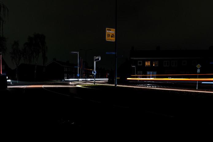 Een deel van Oosterhout zit zonder stroom.