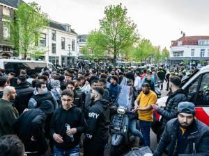 Honderden demonstranten in Utrechtse Kanaalstraat: 'Bang dat ze stenen door mijn ruit zouden gooien'