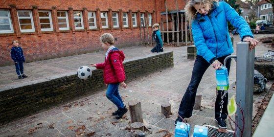 Lood in water bij 14 Amsterdamse basisscholen