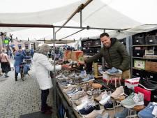 Non-food kraampjes terug op de Bergse markt: 'Nu mogen we weer met onze passie bezig zijn'