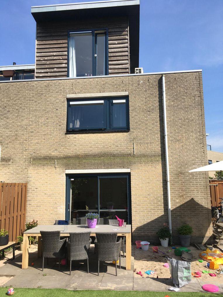 Het huis van Jasper en Manon Hamming voor de verbouwing. Beeld Privéfoto