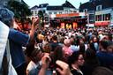 Jazz Connection (met Bart Wouters) tijdens Breda Jazz Festival op de Havermarkt