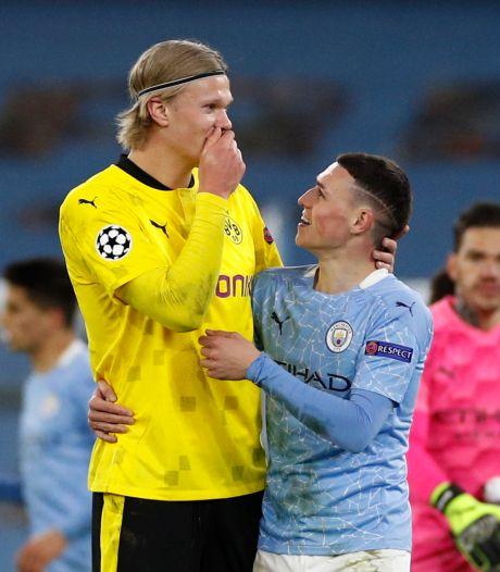 City wint dankzij late goal Foden, maar Borussia Dortmund kan vol vertrouwen richting return