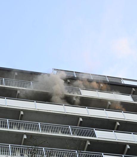 Nijmeegse flat ontruimd vanwege brand
