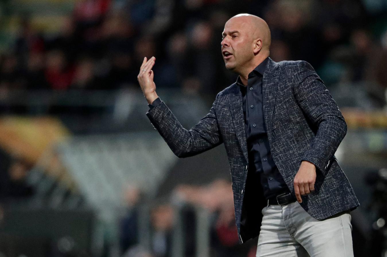 AZ-trainer Arne Slot.
