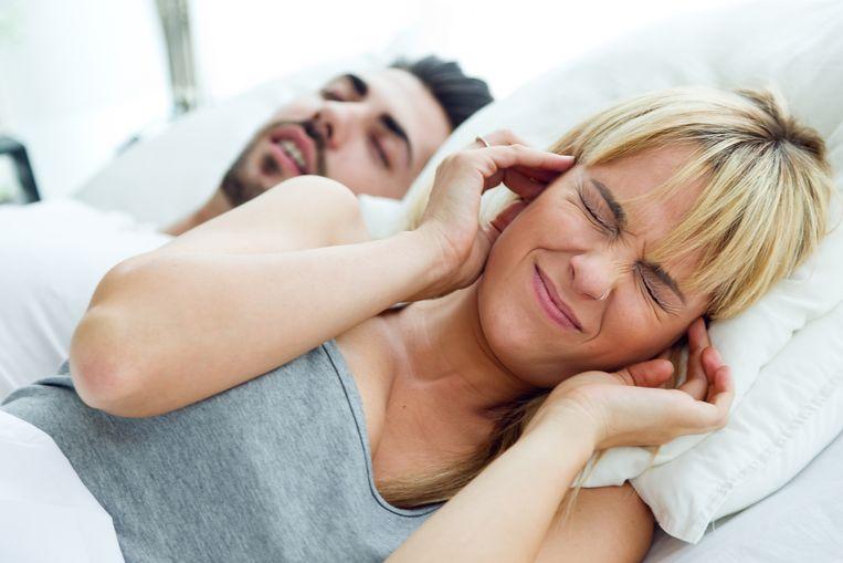 Snurken is gevaarlijk. Beeld Thinkstock