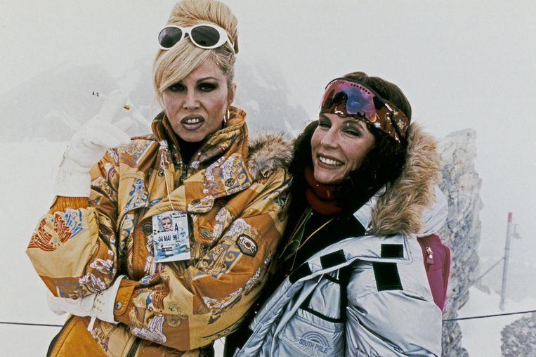 Het idee is afkomstig van Absolutely Fabulous-ster Joanna Lumley (L). Beeld ANP