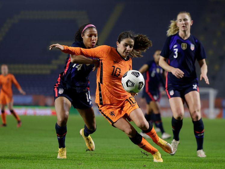 Amerika meetpunt voor Leeuwinnen: 'Zijn verder dan op WK'