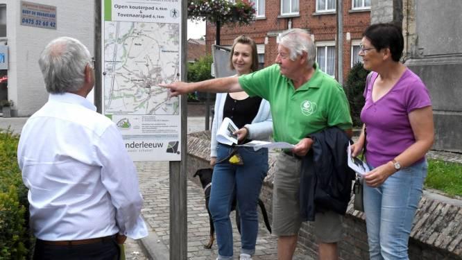 Gemeente stelt vernieuwde Iddergemse wandelroutes voor