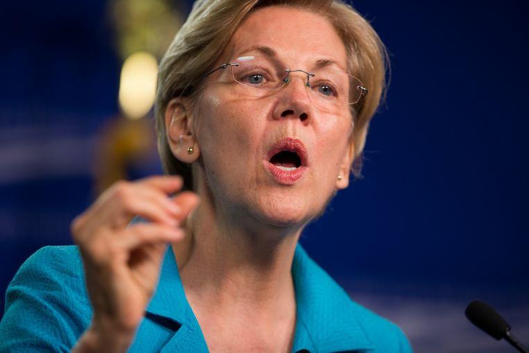 Senator Elizabeth Warren Beeld AP