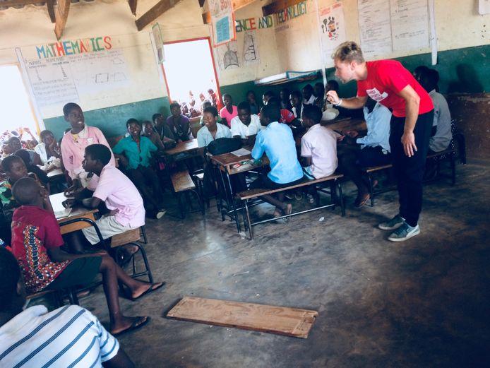 Travelling Teacher Tim Ovington
