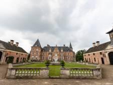Een kijkje in kasteel Twickel, slechts een klein clubje uitverkorenen kreeg vandaag de kans