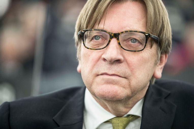 Guy Verhofstadt.  Beeld AP