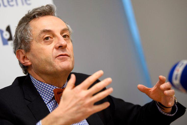 Christian De Valkeneer, procureur-generaal in Luik: 'Kan een rechter met één pennentrek wel een ministerieel besluit schrappen?' Beeld Photo News