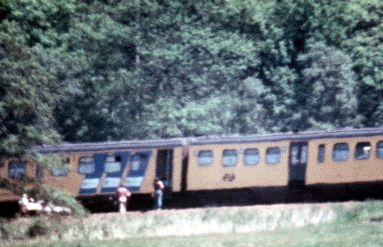 De treinkaping door Molukkers bij De Punt. Beeld anp