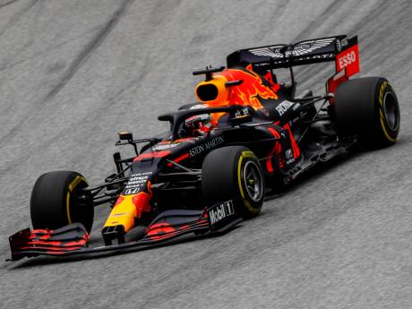 Hamilton klokt wederom snelste tijd, Verstappen achtste