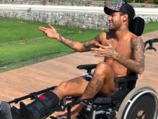 Neymar citeert Hawking, boks met de Ajax-spelers