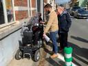 Met de rolstoel rondrijden in Diest is niet altijd een makkie