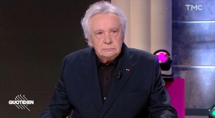 """Michel Sardou dans """"Quotidien"""""""