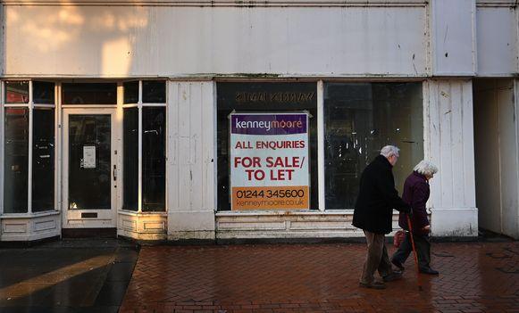 Lege winkelpanden in Wrexham